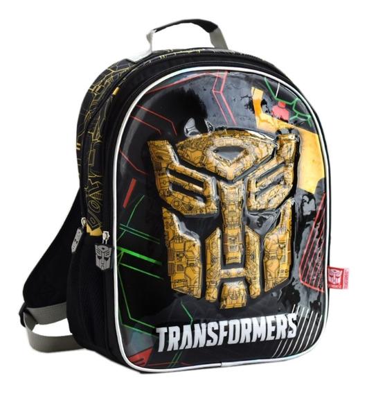 Mochila Espalda Grande 16puLG Transformers Mundo Manias