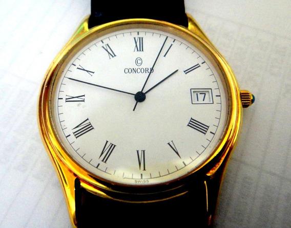 Relógio Concord De Ouro 18k ,estado Excelente.