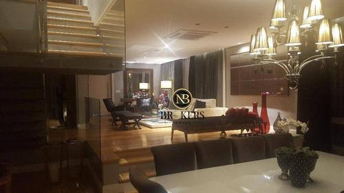 Casa Com 3 Dormitórios À Venda, 600 M² Por R$ 3.200.000,00 - Champagnat - Curitiba/pr - Ca0007
