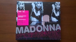 Madonna Sticky & Sweet Tour (cd+dvd) E.u