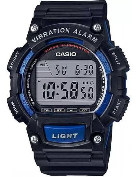 Relógio Casio Masculino W-736h-2avdf Original E Barato