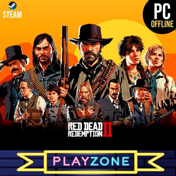 Red Dead Redemption 2 Rockstar Ed. Definitiva + Bônus Steam