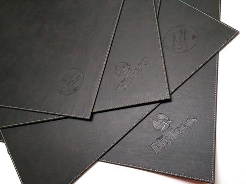 Imagen 1 de 6 de Carpetas Restaurant Ecocuero