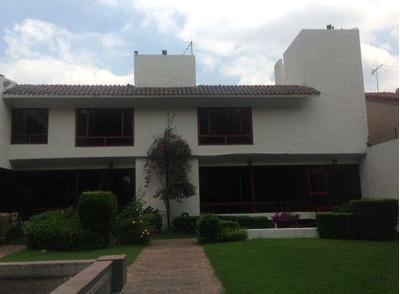 Renta De Hermosa Casa En Exclusiva Zona De Parques Del Pedregal