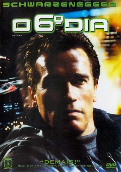 Dvd O Sexto Dia Schwarzenegger (o 6° Dia ) Filme