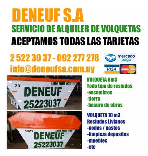 Volquetas Alquiler De Volquetas 2 - 6 Y 10 Hasta En 6 Cuotas