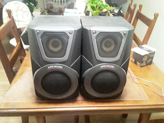 Par De Caixas Acústicas Panasonic Sb-ak25 60w Rms 6 Ohms