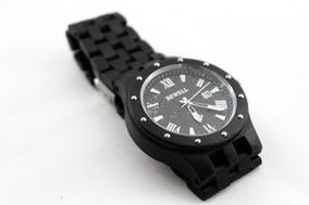 Reloj Bewell De Madera Para Hombre W109 Estuche Metálico