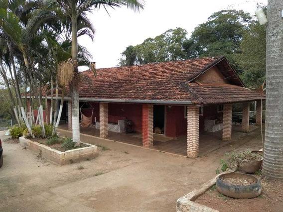 Chácara Ibiúna 1.000 M Casa, Pomar, Piscina A 4 Km Do Centro