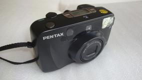 Maquina Fotografica Iqzoom 120 Pentax - Usada No Estado