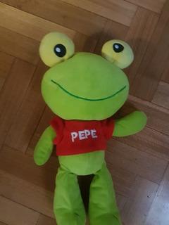 Muñecos Lote De 3 Sapo Pepe Timoteo Y Cholito