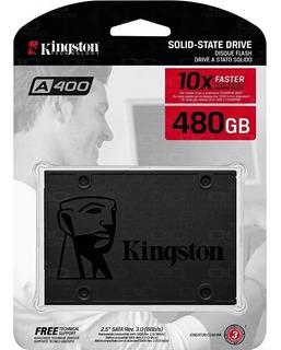 Disco Solido Ssd Kingston A400 480gb 2,5 Sata3 Envio Gratis