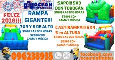 Alquiler Inflables, Cama Elastica, Musica Ciudad De La Costa