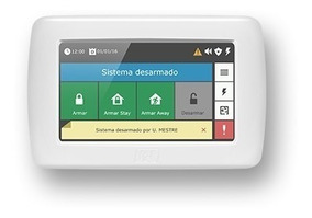 Teclado Para Alarme Jfl Touch Ts 400 Centrais Monitoraveis