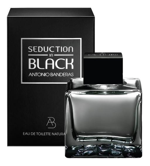 Decant Amostra Do Antonio Banderas Seduction Black Men 10ml