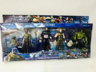 Muñeco Avengers X 5