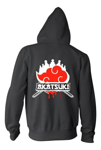 Campera Naruto Shippuden Akatsuki Hoodie Ninja
