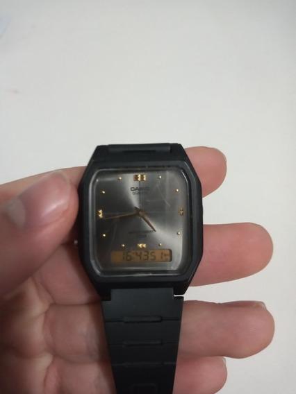 Relógio Unissex Casio Aw 48he 1avdf Analógico/digital