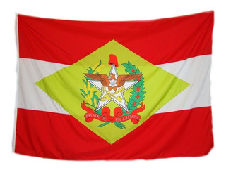 Bandeira Do Brasil, Santa Catarina E Ibirama Tam 135x193cm