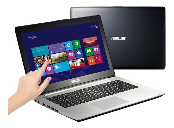 Notebook Asus S451 Touchscreen I5 4gb 500gb Windows 14