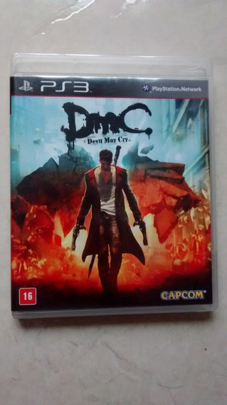 Jogo Original Dmc Devil May Cry Para Ps3