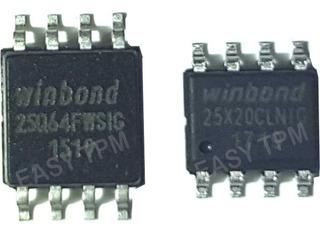 Chip Bios 25q64fwsig + Chip Ec Para Cam Giratoria Netbook G5
