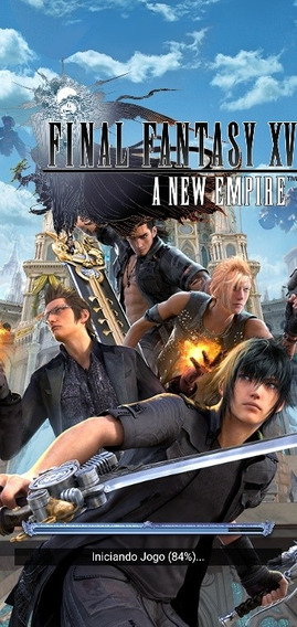 Final Fantasy Xv-new Empire