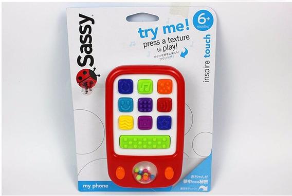 Juguete Para Bebés Teléfono - Sassy