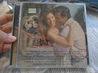 Cd Original De Música Mucho Amor... Con Diferentes Cantantes