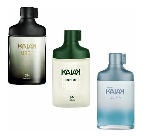 3 Perfumes Kaiak Urbe, Ultra Y Aventura - mL a $194