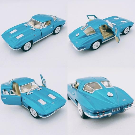 Miniatura Corvette Sting Ray 1963 Escala 1/36