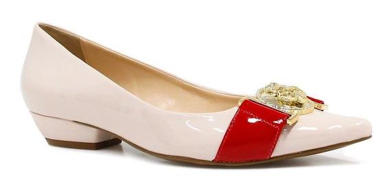 Sapatilha Zariff Shoes Verniz Bico Fino 486