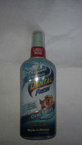 Dental Fresh Oral Spray Gato Y Perro De 118ml Formula Origin