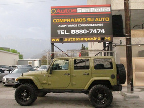 Jeep Wrangler 3.6 Unlimited Sahara 4x4 2013