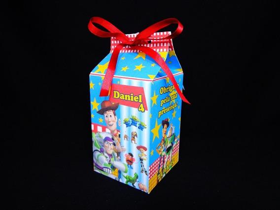 30 Caixa Milk Lembrança Personalizada Todos Os Temas
