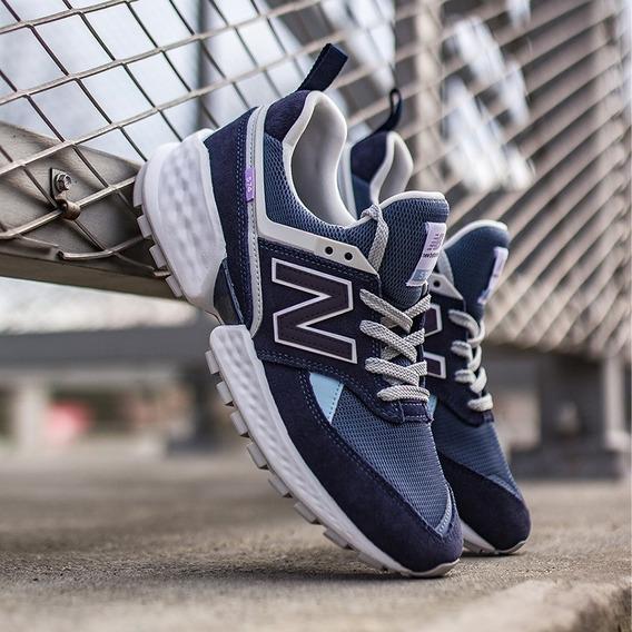 New Balance 574 Sport Azul N Negro