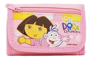 Billetera Doblada Dora The Explorer - Rosa