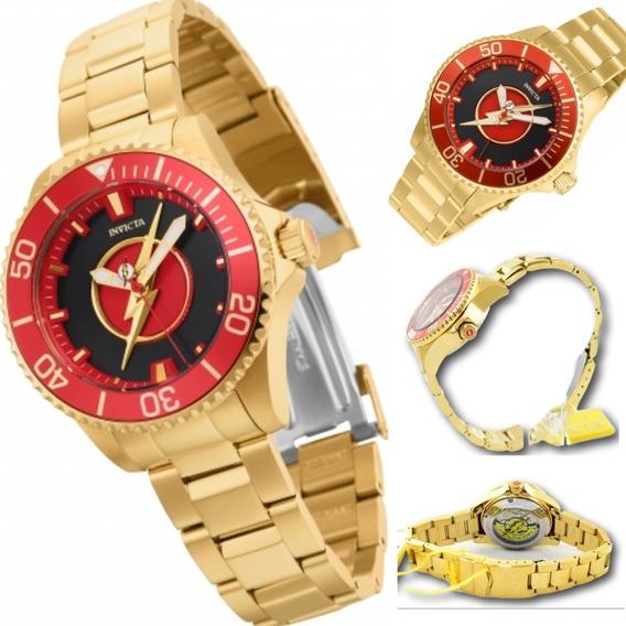Relógio Invicta 26907 Original Feminino Automático The Flash
