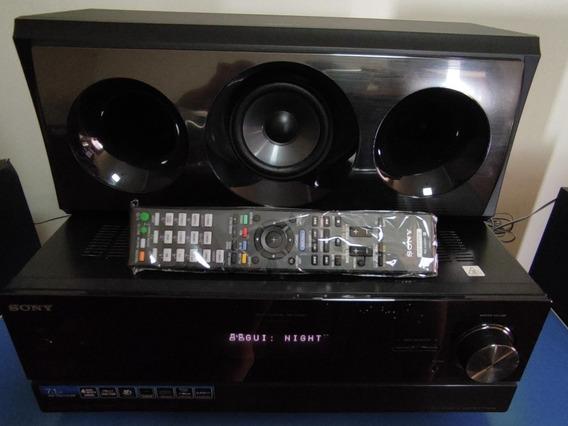 Receiver Sony Str Dn1010 + Caixas Acústicas Sony Completo
