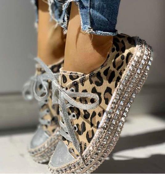 Tênis Feminino Leopardo