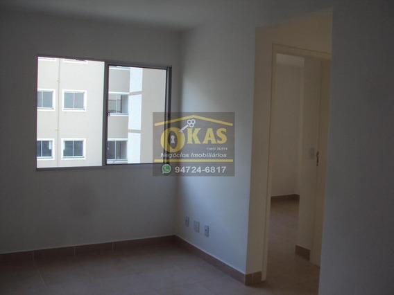 Apartamento Para Locação Em Suzano, Cidade Edson, 2 Dormitórios, 1 Banheiro, 1 Vaga - Ap0105_1-1410120