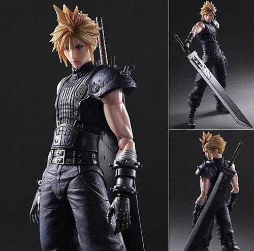 Final Fantasy 7 Remake Figura Cloud (figuras Playarts)