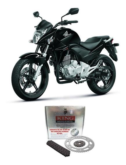Kit Relação Honda Cb 300r King 520h-110l 37t/13t Aço 1045