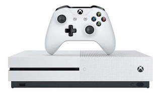 Consola Xbox One S 1tb Hdr 4k Unidad Blue-ray Color Blanco