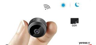 Càmara Espìa Mini Sensor Movimientos Visiòn Nocturna C/sd