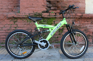 Bicicleta Fox Doble Suspension Rodado 20 Nene Planet Cycle