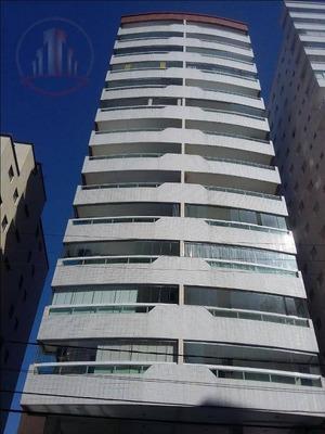 Lindo Apartamento, 03 Dormitórios À Venda, 94 M² Por R$ 425.000,00 - Vila Guilhermina - Praia Grande/sp - Ap1084