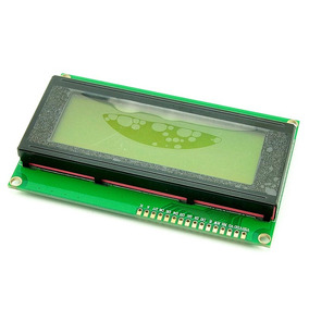 Display Lcd 20x4 - 2004 Backlight Led Verde P/ Arduino Pic