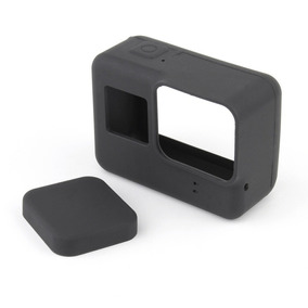 Capa Case Protetora Proteção Silicone Gopro Hero 7 Preto