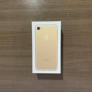 Caixa iPhone 7 Dourado Gold 32gb Com Manuais